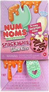 Num Noms Snackables Slime Kits with Fun-Themed to-Go Snack Wave 2, Multicolor