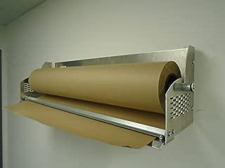 Paper Cutter Roll Dispenser 36 inches wall mount Kraft paper Duralov