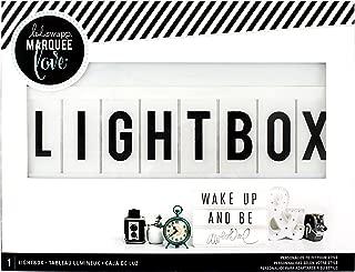 Heidi Swapp Light Box by American Crafts | 13 x 10-inch White Cinematic Lightbox