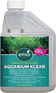Envii Aquarium Klear - Tratamiento para Agua Verde y arenilla del Acuario - Trata 4.000 litros