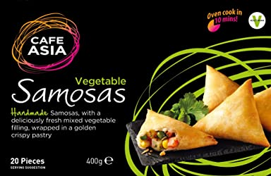 Café Asia Vegetable Samosa, 400 g