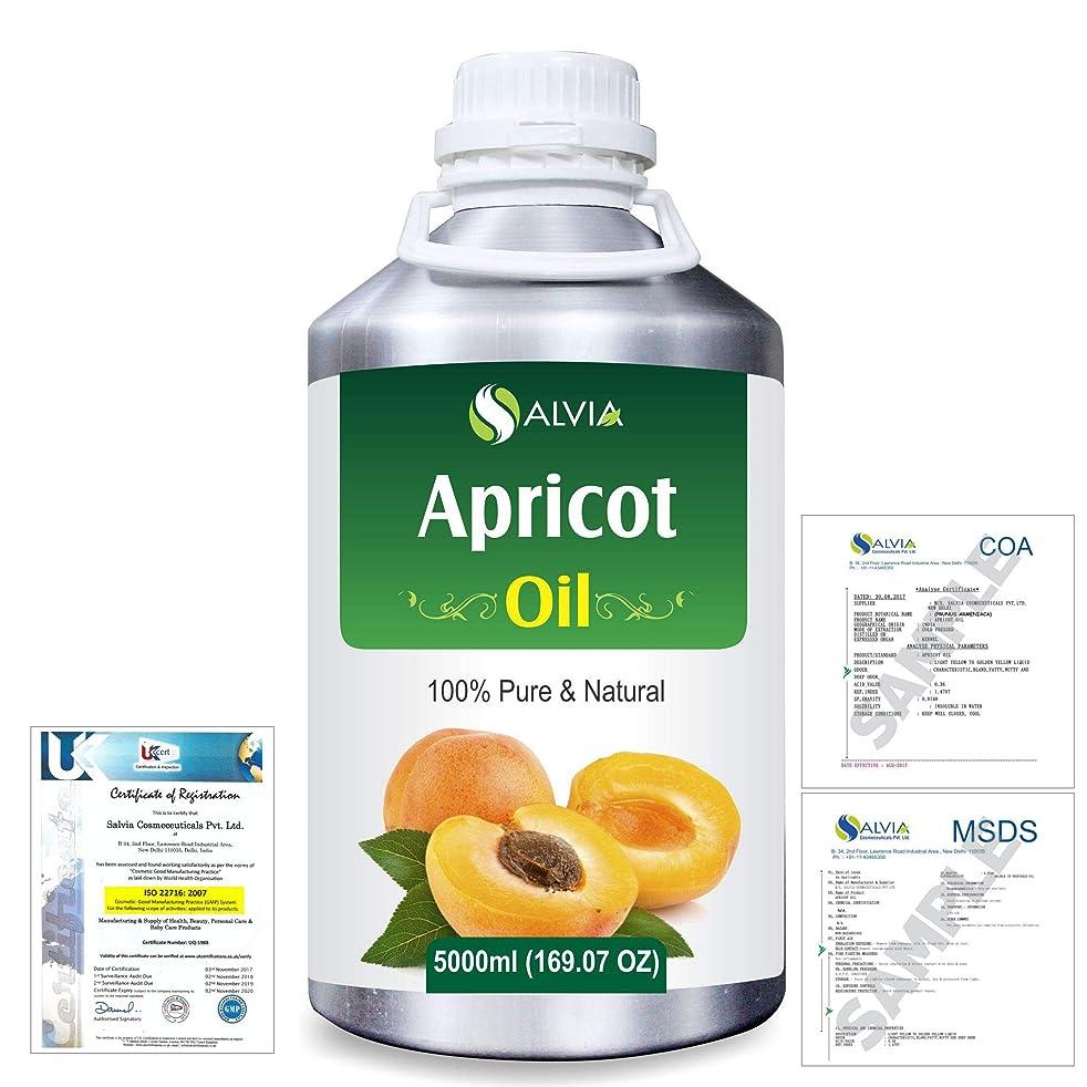弁護士拡散する見込みApricot (Prunus armeniaca) Natural Pure Undiluted Uncut Carrier Oil 5000ml/169 fl.oz.