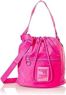 حقيبة طويلة تمر بالجسم صغيرة للنساء من بوما باللون الاسود طراز 07786101