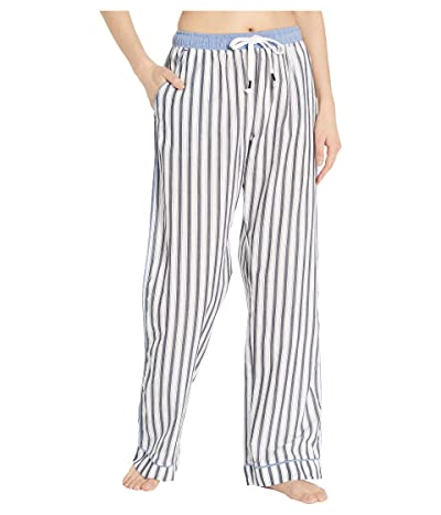 Splendid Classic PJ Pants (Vertical Midnight Stripe) Women