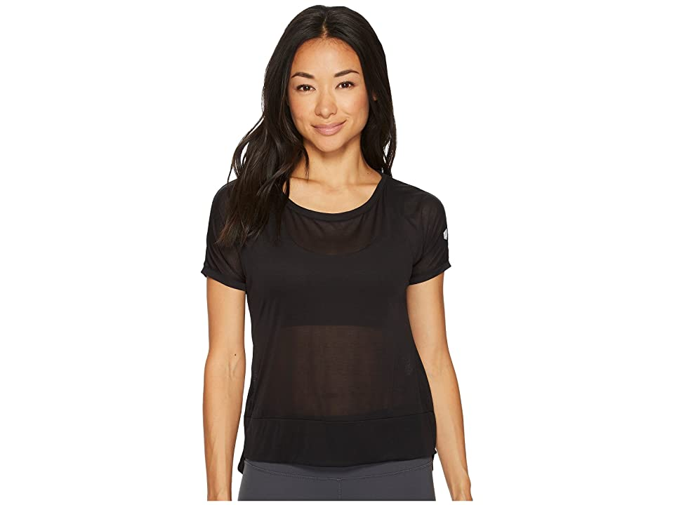 ASICS Legends Crop Top (Performance Black) Women