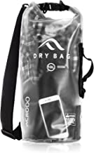 Acrodo Dry Bag Transparent & Waterproof - 10 & 20 Liter Floating Sack for Beach, Kayaking, Swimming, Boating, Camping, Travel & Gifts