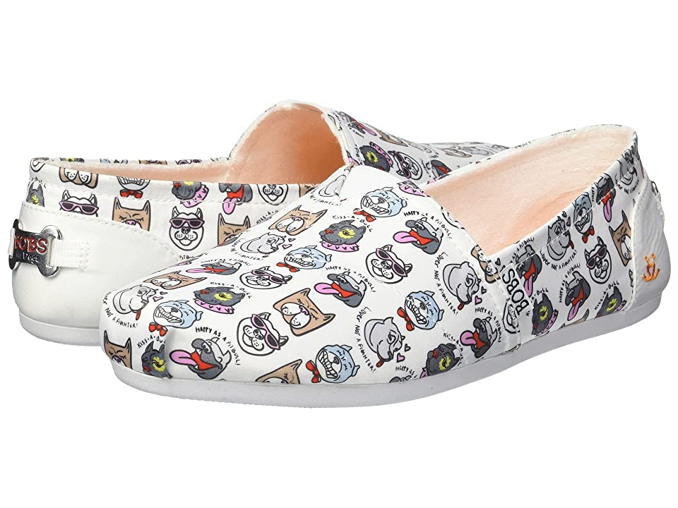 BOBS from SKECHERS Bobs Plush Oh So Pitty (White) Women
