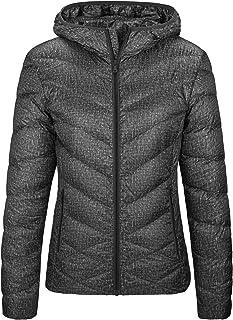 Wantdo Women`s Packable Puffer Down Jacket Winter Hooded Lightweight Coat