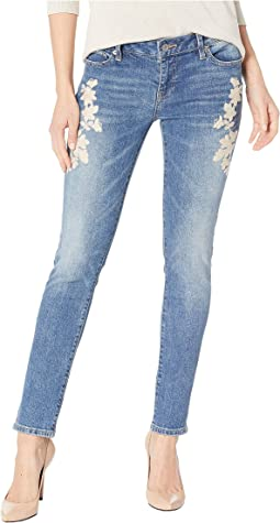 Lolita Skinny w/ Embroidery Jeans in Avon