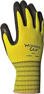 Lfs Glove Wonder Grip WG310S Rubber Gloves, Spring Green, Small