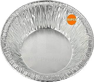 3-Inch Disposable Aluminum Foil Mini Tart/Pie Pan - Freezer & Oven Safe Disposable Aluminum - For Baking, Cooking, Storage...