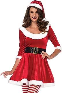 Leg Avenue Women's Santa Sweetie Mrs. Claus Christmas Costume