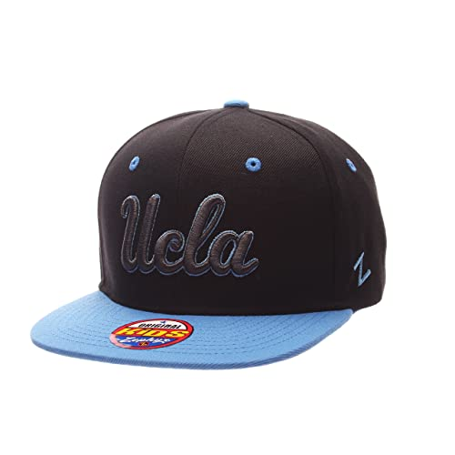 classic fit 99208 a6eb4 Zephyr NCAA UCLA Bruins Children Boys Youth Z11 Phantom Snapback Hat,  Adjustable Size, Black