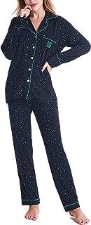 N NORA TWIPS Pajamas Set Long Sleeve Sleepwear Womens Button Down Nightwear Soft Pj Lounge Sets XS-XXL