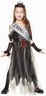 Goth Prom Queen Costume - Halloween Girls Day of The Dead Zombie Queen