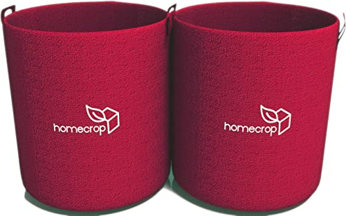 Homecrop Fabric Grow Bags for Terrace Garden - Grow Vegetables, Leafy Vegetables, Herbs on These Smart Fabric Pots (1...