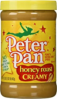 Peter Pan, Honey Roasted Peanut Butter, Creamy, 16.3oz Jar (Individual)