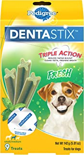Pedigree DENTASTIX Fresh Treats for Toy/Small and Medium Dogs 5-40lbs