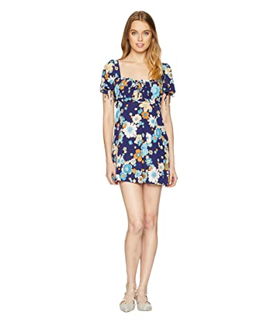 For Love and Lemons Magnolia Mini Dress (Midnight Blossom) Women