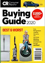 Consumer Reports Annual Buying Guide 2020; Over 2000+ expert reviews