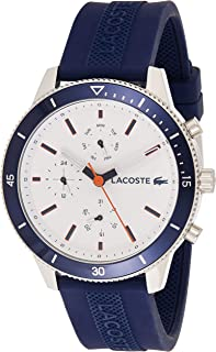 Lacoste Key West Men's White Dial Silicone Band Watch - 2010993