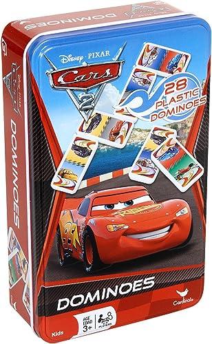 de moda Disney Pixar Cars 2 Dominoes Game Set In Metal Metal Metal Tin by CelebrateExpress  gran selección y entrega rápida