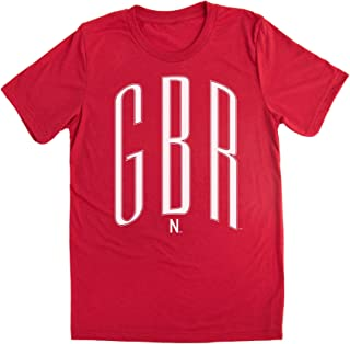Love Red Boutique Nebraska Huskers Tee Shirt - Crew Neck GBR - Go Big Red