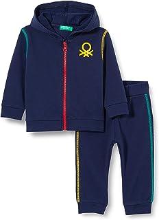 United Colors of Benetton (Z6ERJ) Comp(Giacca+Pant) Pantalón para Niños