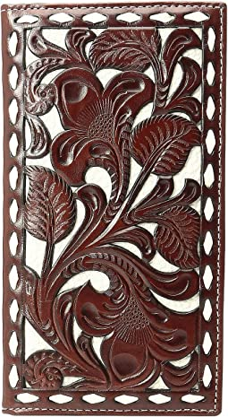 M&F Western - Ivory Laced Rodeo Wallet