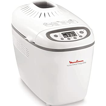 Moulinex OW610110 Machine à pain, 1650 W, 1.5 liters, Blanc