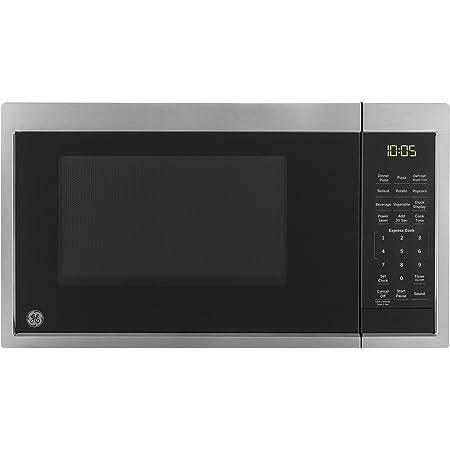 Amazon Com Ge Appliances Jem3072shss Ge 0 7 Cu Ft Capacity Countertop Microwave Oven Stainless Steel Appliances