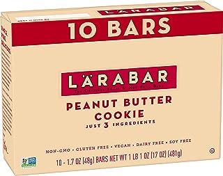 Larabar Gluten Free Bar, Peanut Butter Cookie, Dairy Free, 10 ct, 17 oz