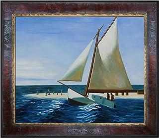 "EH2080-FR-M8334220X24 ""The Martha Mckean Of Wellfleet"" Oil On Canvas, 26x30x2"
