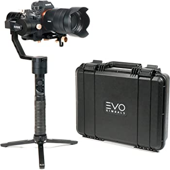 EVO Rage Gen2 Camera Stabilizer for DSLR or Mirrorless Cameras, Works with Sony, Panasonic and Most Cameras 0.75 to 5.5lbs, 1 Year US Warranty and Tech Support