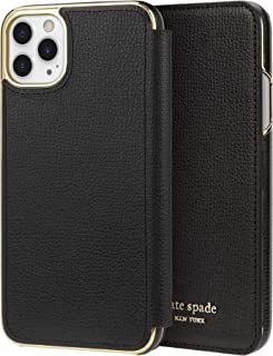 Kate Spade New York Inlay Folio for iPhone 11 Pro Max - Black
