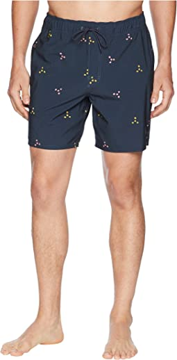 RVCA Middle Elastic Shorts