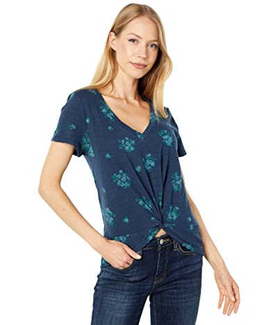 Lucky Brand Twist Front Tee