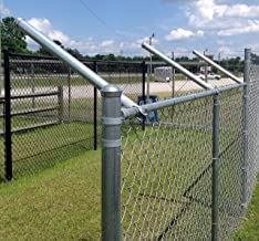 """1 5//8/"""" X 1 5//8/"""" Barb Wire Arm 45 for Chain Link Fence 6 PACK"""