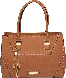 Tan Demi Tassel Tote Bag