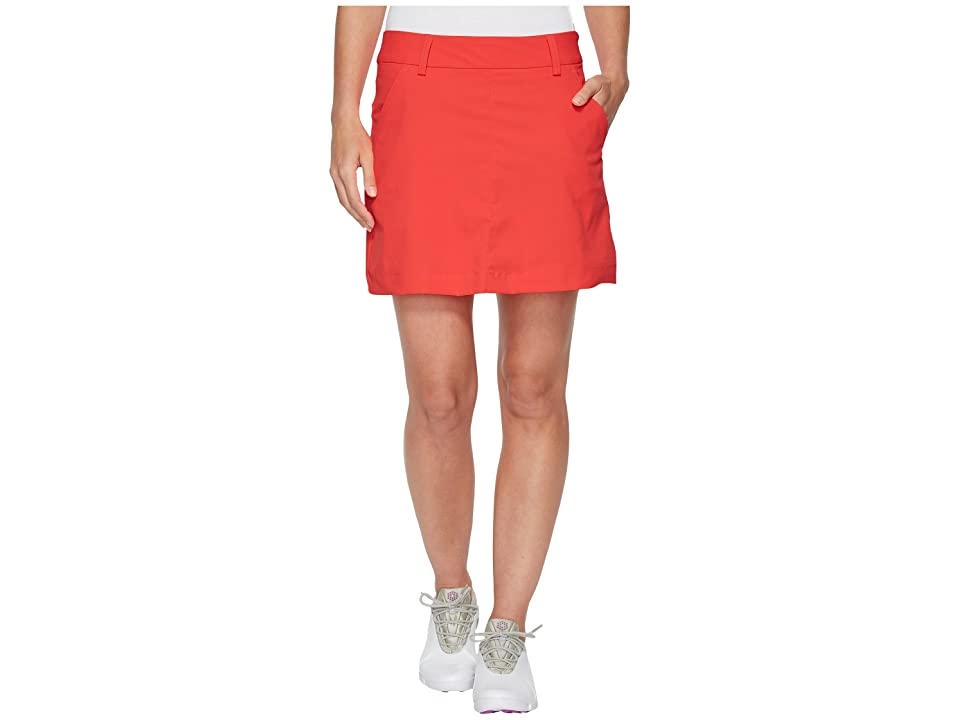 PUMA Golf Pounce Skirt (Bright Plasma) Women