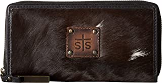 western cowhide wallets