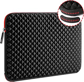 WIWU 17.3 Inch Diamond Laptop Sleeve Case with Water Repellent & Super Corner Protection Laptop Bag for MacBook Pro/Dell I...