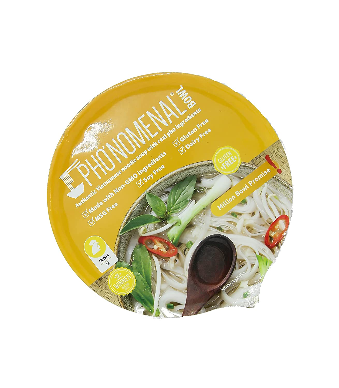 Pho'nomenal 2021 autumn and winter new Bowl Instant Pho Noodles Viet Outlet SALE Low Free Gluten Sodium