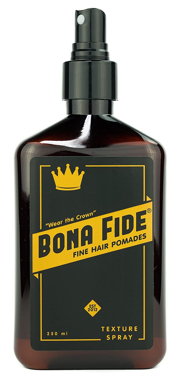 コンパニオンクローン無一文Bona Fide Pomade, テクスチャースプレー / Texture Spray (250mL) 液状水性ポマード / スタイリングスプレー(整髪料)