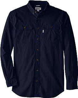 Carhartt Men's Big & Tall Long Sleeve Solid Work Shirt