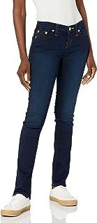 دین واقعی Billie Mid Rise Straight Leg Rinse Jean