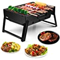 Morpilot Folding Notebook Portable Barbecue Charcoal Grill