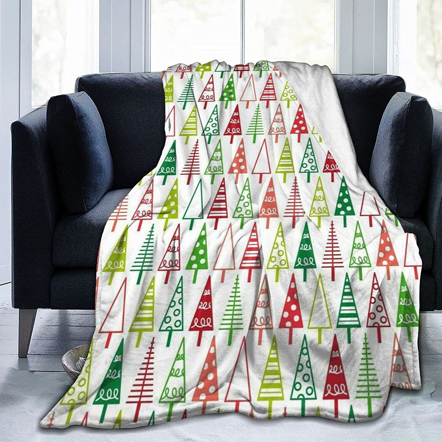 Max 83% OFF Large discharge sale Christmas Soft Flannel Blanket for Sofa Adluts Kids Cozy