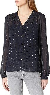Morgan Chemise Jacquard Calito Shirt Femme