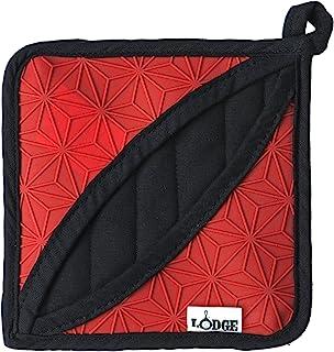 Lodge Manufacturing Company trivet/potholder, 1 Count, Red/Black